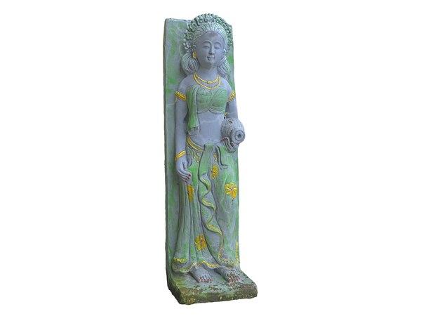 asian sculpture 8k model