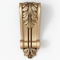 3D corbel decorative