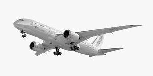 boeing 787-8 dreamliner plane 3ds