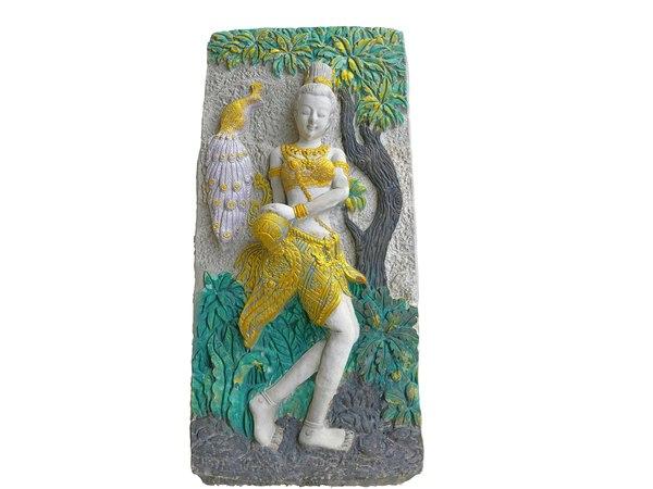3D relief sculpture