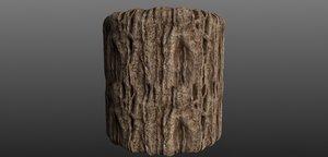 Tree Bark 007 Material Texture