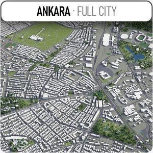 3D ankara surrounding -