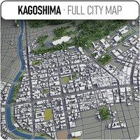 3D kagoshima surrounding -