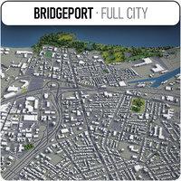 3D bridgeport surrounding -