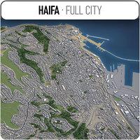 3D haifa surrounding -