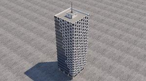 building skyscraper 3D model