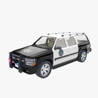 suv police fbi model