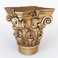 classical column 3D