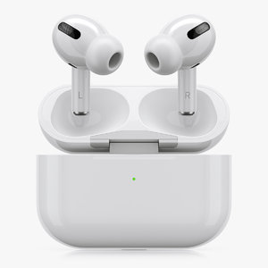 3D apple airpods pro model