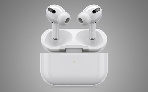 3d Apple Airpods Pro Model Turbosquid 1473584