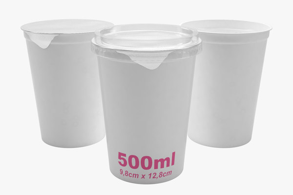 plastic container type2 3D model