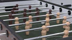 pinball soccer model