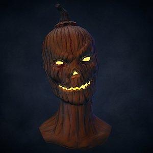 3D ztl halloween bust