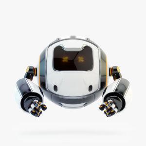3D dog walker xii bot