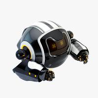 dog walker xi bot 3D model