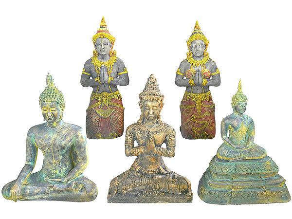 ancient sculptures pack 3D