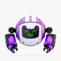 3D dog walker ix bot