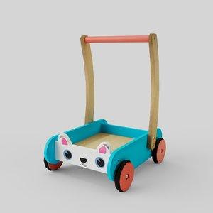 3D toy walker