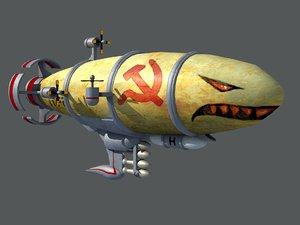 3D airship air