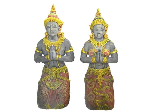 ancient sculptures model