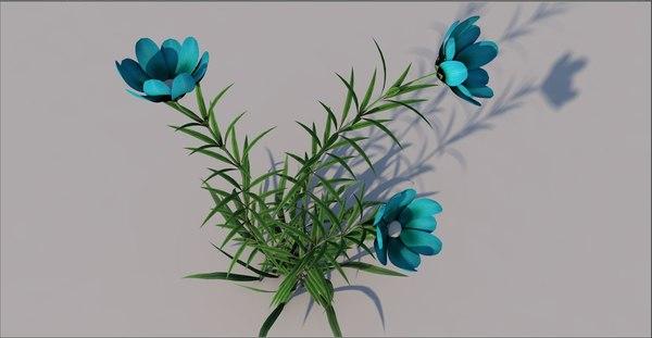 3D flower wild