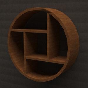 3D model book self