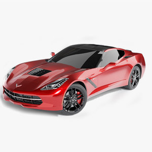 chevrolet corvette stingray c7 3D model