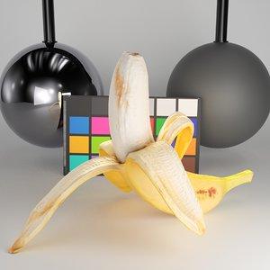 banana peeled model
