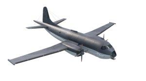 3D atl2 aircraft