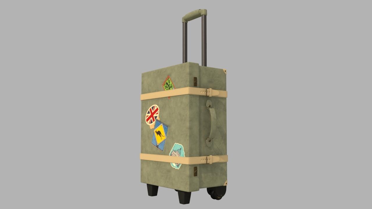 carrier bag model