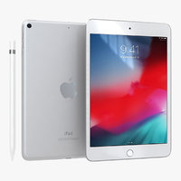 apple ipad mini 2019 3D