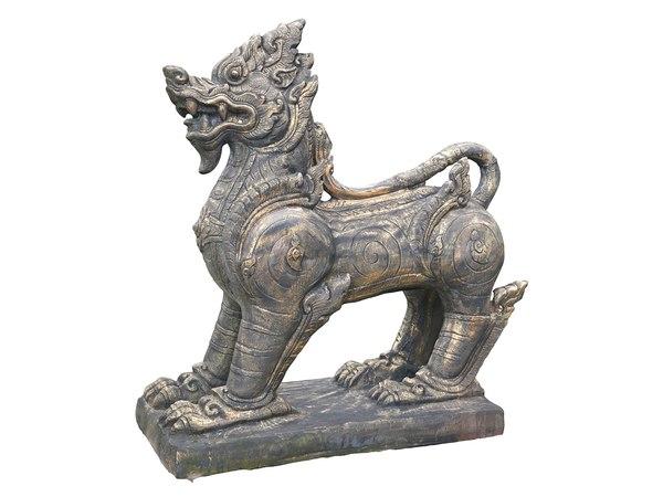 ancient sculptures hd 8k 3D model