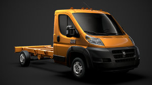 3D model ram promaster chassis truck
