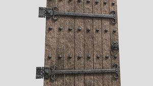 door reinforced 8k 3D model
