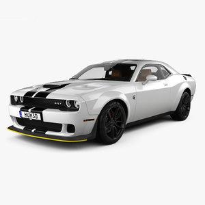 dodge srt challenger 3D model