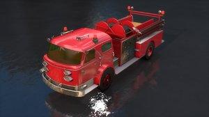 pumper truck 3D model