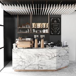 3D model restaurants