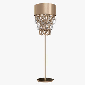 eurolampart opera floor lamp 3D model