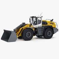 3D liebherr l580 xpower wheel loader