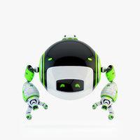 dog walker iv bot 3D model