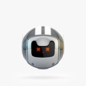 dog walker bot 3D model