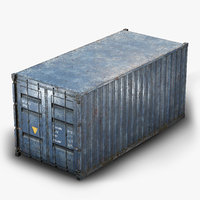container pbr 3D model