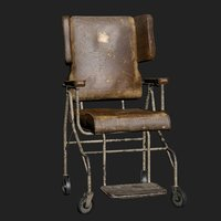 Old Worn Wheelchair