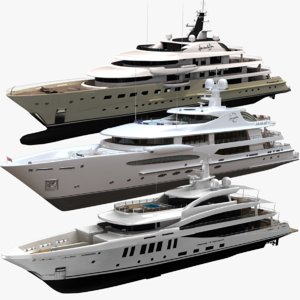 3D amels 272 yacht 200