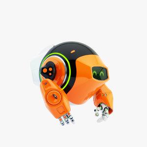 3D dog walker iii bot
