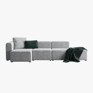 hay mags sofa 3D model