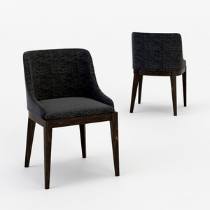 3D architectural visualization cleo chair model