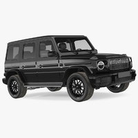 luxury suv generic 3D model