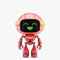 lovely robot - companion 3D model