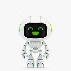 lovely robot - companion 3D model